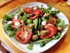 Healthy and quick to make salad