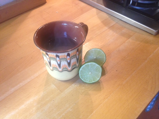 Hot Lime Drink