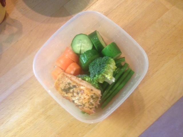 Healthy food on the go..