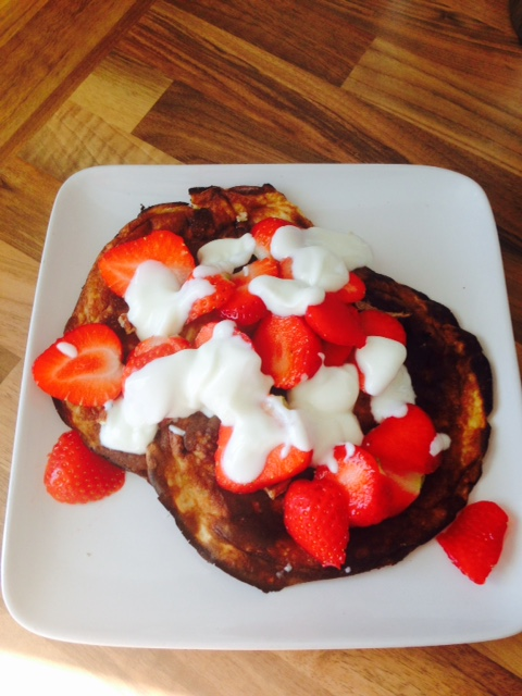A Wimbledon inspired breakfast!