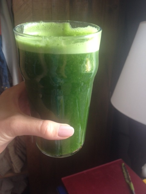 Kale and Lime Juice