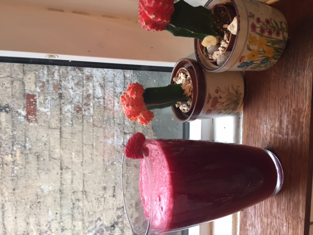 Beetroot and Raspberry Juice