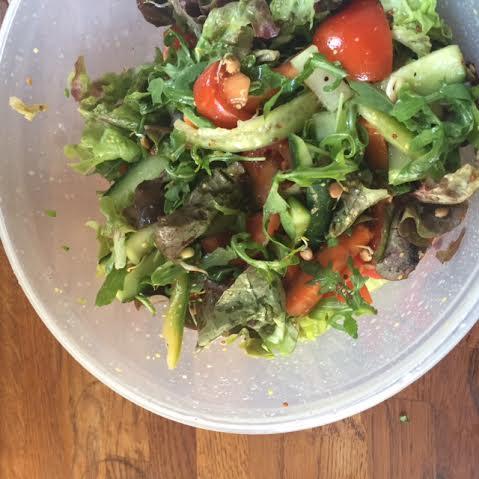Huey likes Salad