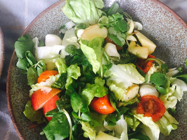 Add fruit to your Salads to make them more exciting!