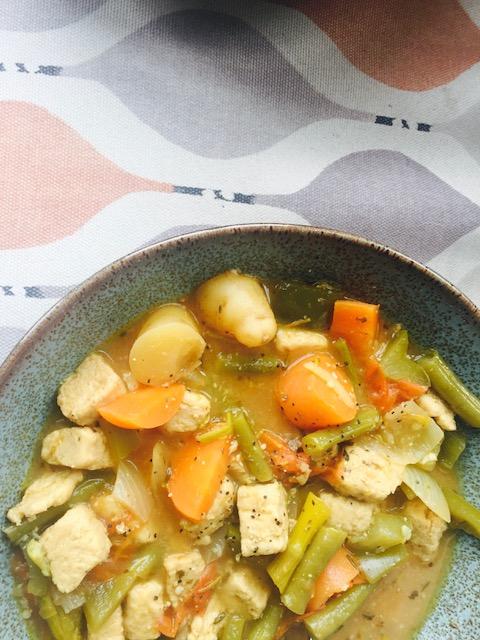 Quorn Chicken Stew