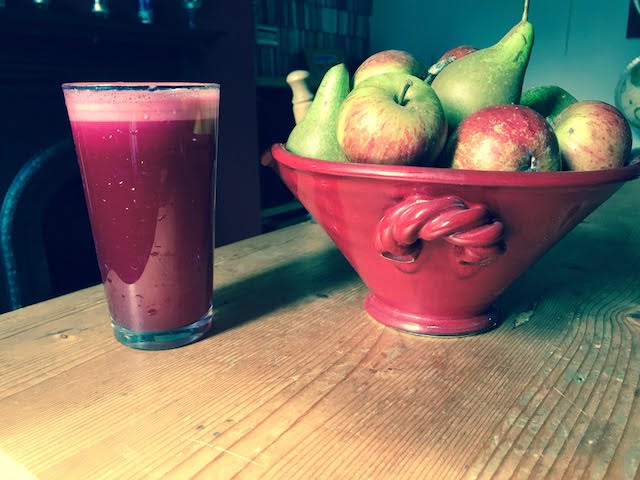 Beetroot, Apple and Pear Juice