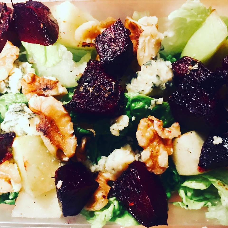 Beetroot and Blue Cheese Salad