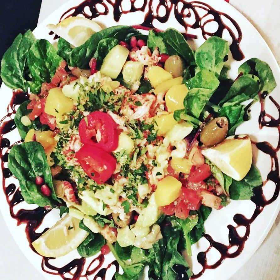 Now this is what you call a salad!!!