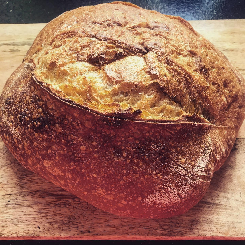 Lovely lovely Sourdough! I love toast!