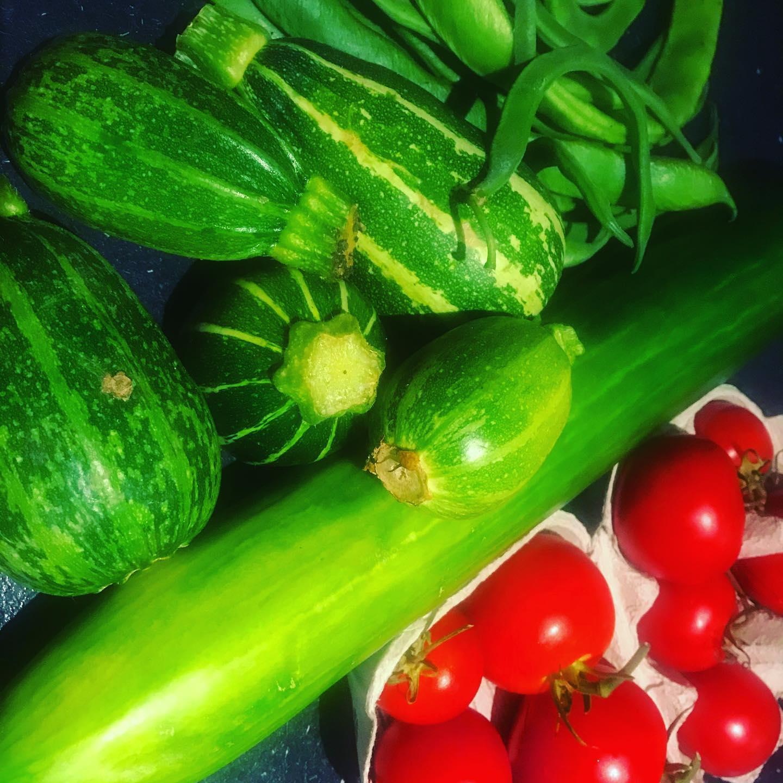 Homegrown veggies!